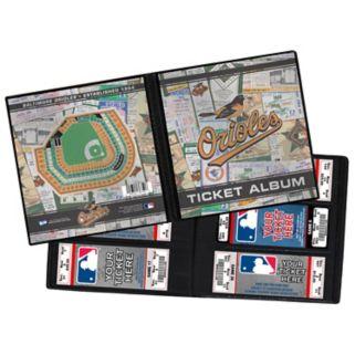Baltimore Orioles Ticket Album