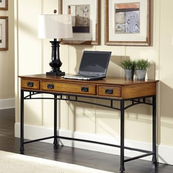 Modern Craftsman Executive Desk