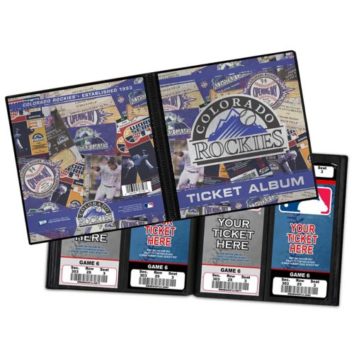 Colorado Rockies Ticket Album