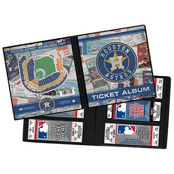 Houston Astros Ticket Album