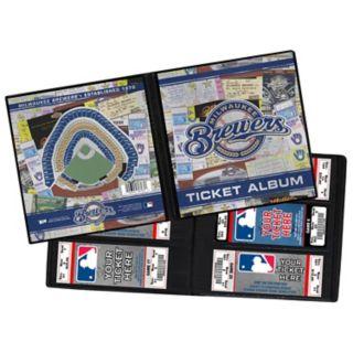 Milwaukee Brewers Ticket Album