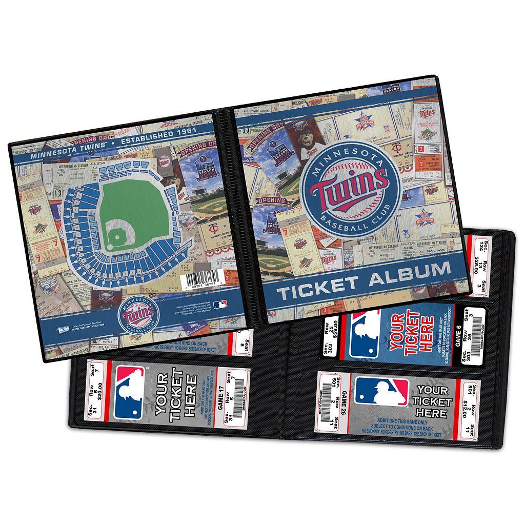 Minnesota Twins Ticket Album