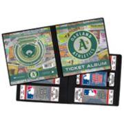 Oakland Athletics Ticket Album