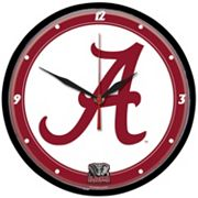 Alabama Crimson Tide Round Wall Clock