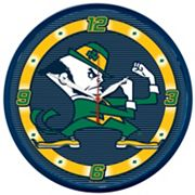 Notre Dame Fighting Irish Round Wall Clock