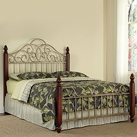Home Styles St. Ives 3 pc King Headboard, Footboard & Frame Set