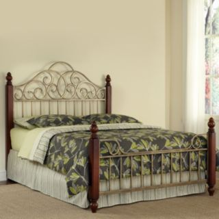 Home Styles St. Ives 3-pc. King Headboard, Footboard & Frame Set