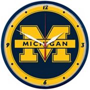 Michigan Wolverines Round Wall Clock