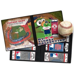 Boston Red Sox Mascot Ticket Album