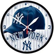 New York Yankees Round Wall Clock