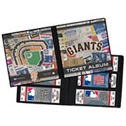 San Francisco Giants Mascot Ticket Album