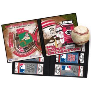 Cincinnati Reds Mascot Ticket Album