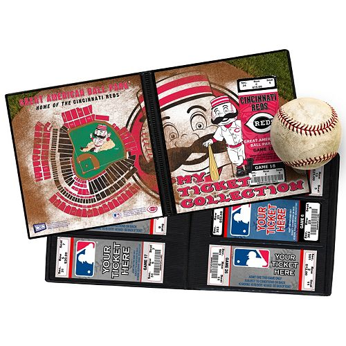 Cincinnati Reds Mascot Ticket Album