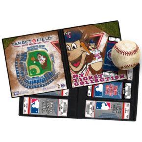 Minnesota Twins Mascot Ticket Album