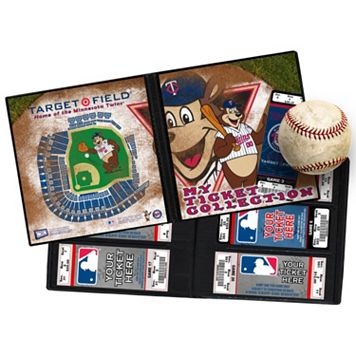 Minnesota Twins Mascot Ticket Album
