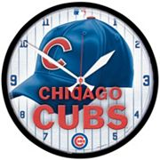 Chicago Cubs Round Wall Clock