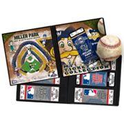 Milwaukee Brewers Mascot Ticket Album
