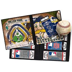 Milwaukee Brewers Mascot Ticket Album