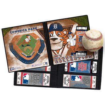 Detroit Tigers Mascot Ticket Album