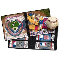 Texas Rangers Mascot Ticket Album