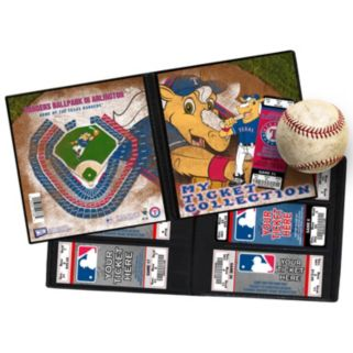 Texas Rangers Mascot Ticket Album
