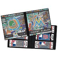 Miami Marlins Ticket Album