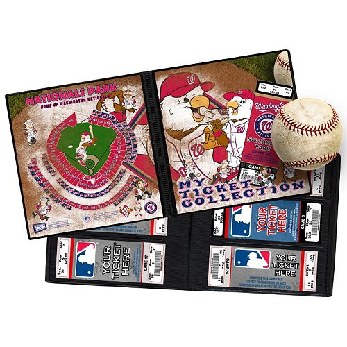 Washington Nationals Mascot Ticket Album