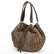 B-Collective by Buxton Brooke Snakeskin Hobo