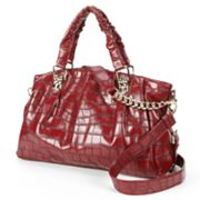 B-Collective by Buxton Shannon Crocodile Satchel