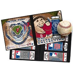 San Diego Padres Mascot Ticket Album