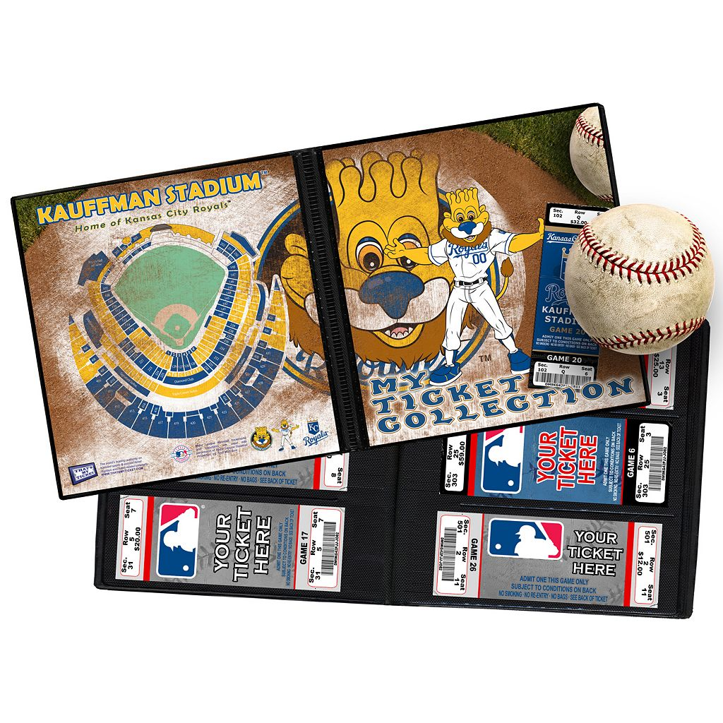 Kansas City Royals Mascot Ticket Album