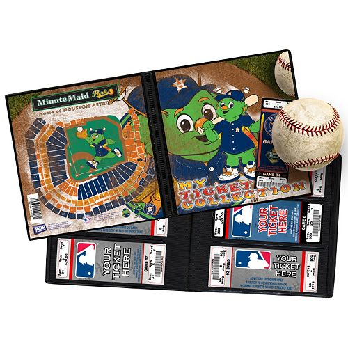 Houston Astros Mascot Ticket Album