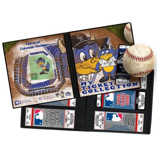 Colorado Rockies Mascot Ticket Album