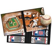 Baltimore Orioles Mascot Ticket Album