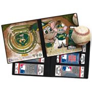 Oakland Athletics Mascot Ticket Album