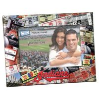 "Cleveland Indians 4"" x 6"" Ticket Collage Picture Frame"