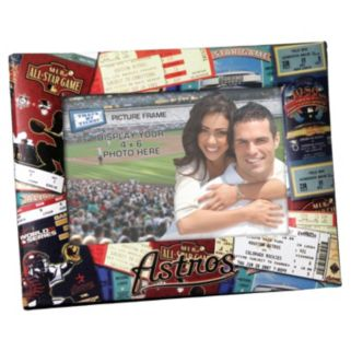 Houston Astros 4 x 6 Ticket Collage Picture Frame
