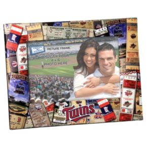 Minnesota Twins 4 x 6 Ticket Collage Picture Frame