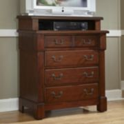 Aspen 4-Drawer Media Chest