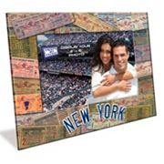 New York Yankees 4 x 6 Vintage Ticket Collage Picture Frame