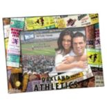 """Oakland Athletics 4"""" x 6"""" Ticket Collage Picture Frame"""