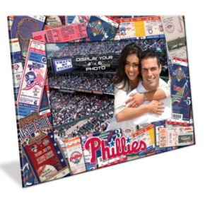 Philadelphia Phillies 4 x 6 Ticket Collage Picture Frame