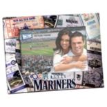 "Seattle Mariners 4"" x 6"" Ticket Collage Picture Frame"