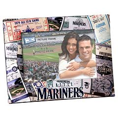 Seattle Mariners 4' x 6' Ticket Collage Picture Frame
