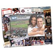Texas Rangers 4 x 6 Ticket Collage Picture Frame