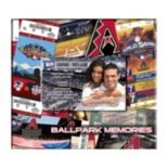 "Arizona Diamondbacks 8"" x 8"" Ticket & Photo Album Scrapbook"