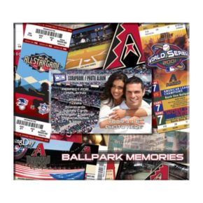 Arizona Diamondbacks 8 x 8 Ticket and Photo Album Scrapbook