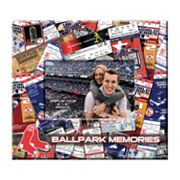 Boston Red Sox 8 x 8 Ticket and Photo Album Scrapbook