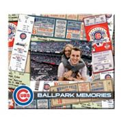 Chicago Cubs 8 x 8 Ticket and Photo Album Scrapbook