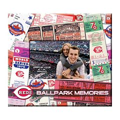 Cincinnati Reds 8' x 8' Ticket & Photo Album Scrapbook